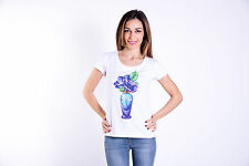 WEEKLY T-SHIRT DONNA PE 17 SWAROVSKI T-SHIRT WOMAN PE 17 100PAWE