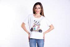 WEEKLY T-SHIRT DONNA PE 17 SWAROVSKI T-SHIRT WOMAN PE 17 101PESA