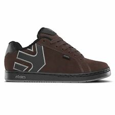 ETNIES - FADER Baskets pour homme Patins marron gris noir Dirty Wash