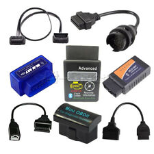 ELM327 OBD2 Wireless Bluetooth Car Diagnostic Scanner + 3Pin 16 22 38 Pin  Cable
