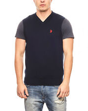 Polo Pullunder Strick-Pullunder Sweater Blau U.S. POLO ASSN. Fashion Trend Sale