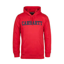 Carhartt Hooded College Sweat Chilli-Hombre COLLEGE Sudadera Con Capucha De
