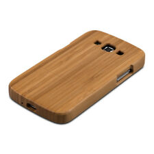 kwmobile FUNDA DE MADERA PARA SAMSUNG GALAXY GRAND 2 BAMBÚ NATURAL CARCASA