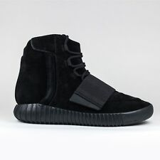 Authentic New Adidas Yeezy Boost 750 Triple Black Sneakers BB1839 2015