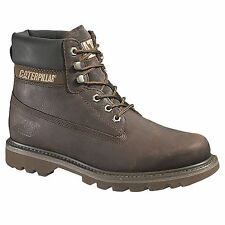 Caterpillar CAT Colorado CHOCOLATE Trabajo Informal Botas Zapato beige Chukka