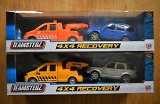 TEAMSTERZ DIECAST AND PLASTIC 4x4 BREAKDOWN RECOVERY TOW TRUCK AND DISCOVERY