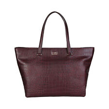 CAVALLI CLASS BORSA DONNA - SHOPPING BAG  BURGUNDY