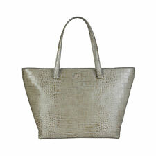 CAVALLI CLASS - BORSA DONNA - SHOPPING BAG - GREY-ORANGE