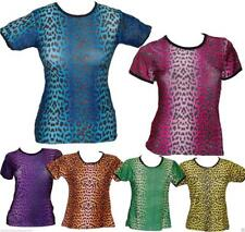 LEOPARD PRINT T SHIRT GOTHIC ALTERNATIVE