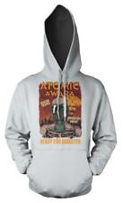 BNWT ATOMIC WAR READY FOR DISASTER GAS MASK   HOODIE HOOD KIDS CHILDS  3-12 YRS