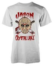 BNWT WELCOME TO CRYSTAL LAKE JASON FRIDAY 13TH HORROR  ADULT T-SHIRT S-XXL