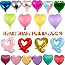 """VALENTINES DAY FOIL BALLOONS 18""""/32"""" Room Decor/Hearts/Gift Love Romance BALOONS"""