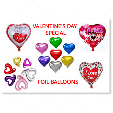 Valentines Day Gift Foil Balloons Love Theme Romantic His & Her Engagement Wed