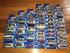 HOT WHEELS 2005 FIRST ED, BLUE CARDS, TORPEDOES, X-RAYCERS, REALISTIX,  BIN 1113