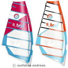 North Sails S Type 6,0m²  2017 Windsurf Segel Freeride Camber