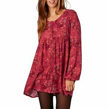 Billabong Dresses - Billabong Day And Night Dress - Velvet Red