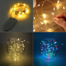 Yellow RGB LED Micro Wire String Fairy Party Xmas Wedding Christmas Decor Lights