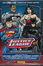 Panini META X Justice League Trading Card Game!  Starter Deck Contains 50 Cards