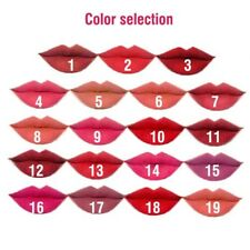 Perfeclan 5 pcs/Set Women Matte Lip Gloss Waterproof Makeup Crayon Lipstick