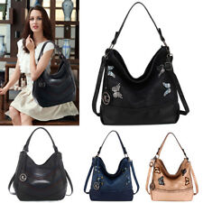 Women's Hobo Designer Shoulder Handbags Ladies Faux Leather Fashion Satchel Bag