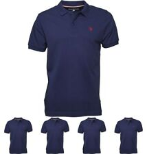 FASHION U.S. POLO ASSN. Mens King Polo Medieval Blue Small Chest 36-38""