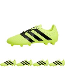FASHION adidas Mens ACE 16.3 FG Football Boots Solar Yellow/Core Black/Silver M