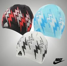 Mens Genuine Nike Microfleece Headband Rider Beanie Hat Wool Headwear