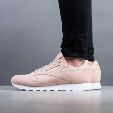 SCARPE DONNA SNEAKERS REEBOK CLASSIC LEATHER NUDE [CN1504]