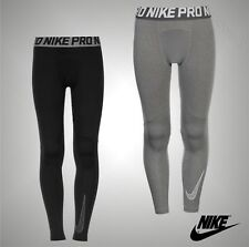 Junior Boys Genuine Nike Lightweight Stretch Pro Baselayer Tights Size Age 7-13
