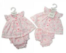 Premature Preemie Baby Girl Clothes  Dress and Knickers Pink 3-5lb 5-8lb reborn