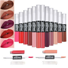 Dual Ends Cosmetic Matte Makeup Lip Gloss Kit Liquid Lipstick Set 4 Shades