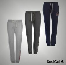 Ladies Branded SoulCal Casual Graphic Print Jogging Bottoms Trousers Size 8-16