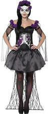 Tag Der MORTI holly costume NUOVO - donna Carnevale Travestimento Costume