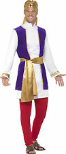 Arabe Prince Costume POUR HOMME NEUF - homme carnaval déguisement costume