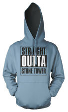 Fortnite Gaming Straight Outta Stone Tower X-Box Playstation PC Adults Hoodie