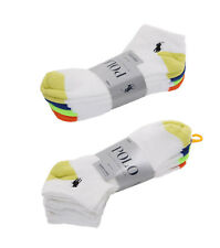 Ralph Lauren Low Cut Ankle Sport Casual Socks (8 Pairs Per Set) - $0 Free Ship