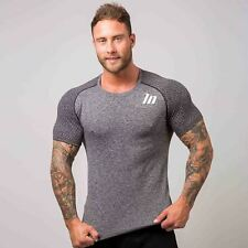 Muscle Nation Ghost Seamless T-Shirt Grey