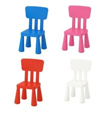 IKEA MAMMUT CHILDRENS KIDS GARDEN INDOOR OUTDOOR CHAIRS