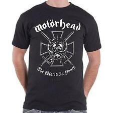 Motorhead - The World Is Yours manga corta de caballero Camiseta de algodón -