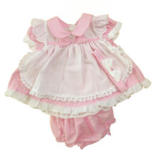 Baby Girl Clothes Dresses Knickers Headband  Pink Gingham   0  -24 months