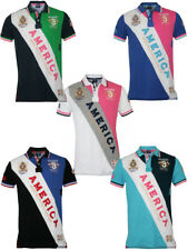 GEOGRAPHICAL NORWAY homme golf polo shirt Camp Chemise Kusa en XXL S nouveau +