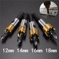 1218MM HSS TITANIUM COATED HOLE SAWTOOTH HSS HOLE SAW CUTTER DRILL BIT