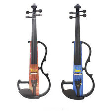 IRIN 44 PORTABLE ELECTRIC VIOLIN WITH BOW ROSIN CARRY CASE FOR BEGINNER