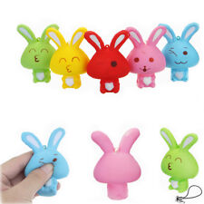 SQUISHY RABBIT BUNNY 8CM SOFT SLOW RISING PHONE BAG STRAP DECOR COLLECTION GIFT