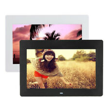 10 INCH HD TFTLCD DIGITAL PHOTO MOVIES FRAME MP4 PLAYER ALARM CLOCK