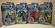"MAX STEEL TOXZON CYTRO Or DREDD   6""  ACTION ARTICULATED FIGURES LIGHTS SPIN"
