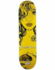 """DGK SEAN CLIVER GIRLS QUISE SKATEBOARD DECK - 8.06"""" - FREE NEXT DAY SHIPPING"""