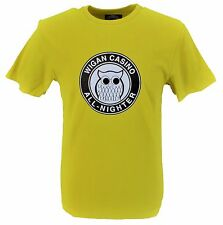 Wigan Casino GIALLO 100% COTONE ALL NIGHTER Logo T-Shirt…