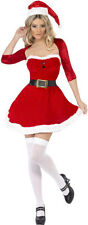 Sexy weihnachtslady Costume NUOVO - donna Carnevale Travestimento Costume