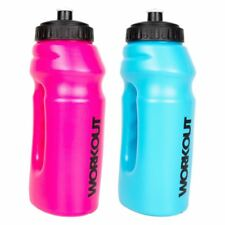 695ML Grip Water Bottle Drink Drinking Jogging Cycling Hiking Sports Fitness Gym